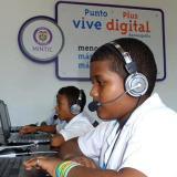 Estudiantes podrán mejorar su nivel académico en los Kioscos Vive Digital