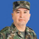 Comandante de la Fuerza de Tarea Zeus, brigadier general Pablo Bonilla V.