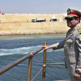 Presidente egipcio, Abdelfatah al Sisi, inaugura el nuevo canal de Suez