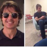 La visita relámpago de Tom Cruise al aeropuerto Ernesto Cortissoz
