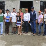 Minagricultura y Banagrario entregan casas a bananeros