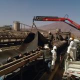 Masivo despido de mineros en Chile