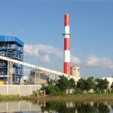 Instalaciones de la central generadora de energía eléctrica Gecelca 3.