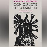 Carátula de la reedición conmemorativa del Quijote.