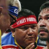 Pacquiao reta a Floyd para pelear en Catar