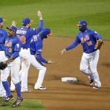 Otro jonrón de Murphy pone a Mets arriba 2-0 ante Cachorros