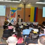 Alrededor de 472 estudiantes asistieron al Foro Pensando en Colombia.
