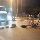 Bloquean vía al aeropuerto Cortissoz por fallas en el servicio de energía eléctrica