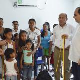 Segebre inaugura puestos de salud en 4 corregimientos de Tubará