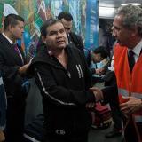 Llegó al país el primer colombiano repatriado desde China por razones humanitarias