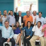 Gobernador y alcaldes electos trazan hoja de ruta conjunta