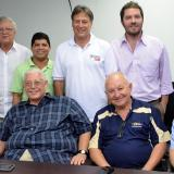 Alcalde de Soledad, Joao Herrera en compañía del comité ejecutivo de Odecabe.