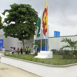 Fachada de la actual sede de la Unidad de Prevención y Justicia de Barranquilla.