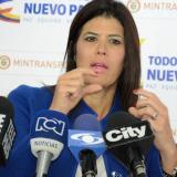 Natalia Abello Vives, Ministra de Transporte.
