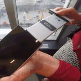 El nuevo terminal tiene batería removible.
