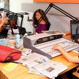 Durante la emisión del programa 'Temprano es más bacano', de la cadena radial Olímpica Stereo.