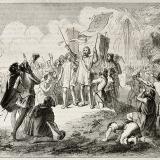 El descubrimiento de América por parte de Cristóbal Colón derivó la colonización europea en el continente.