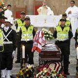 """""""Los invito a ser felices, como decía Édgar"""": Monseñor Jaramillo"""