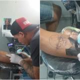 Hincha del Junior se tatúa a Édgar Perea