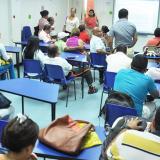 Los maestros se declararon en asamblea permanente.