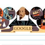 Google conmemora a William Shakespeare con doodle