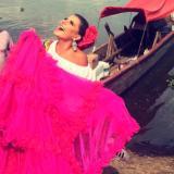 Entregan placa honorífica a Marcela García Caballero, reina del Carnaval 2016