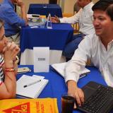 Aspecto general de la rueda de negocios realizada por la Cámara Colombiana de la Infraestructura.