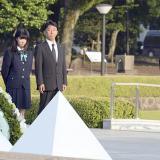 """""""La muerte cayó del cielo y el mundo cambió"""": Obama en ceremonia a víctimas en Hiroshima"""