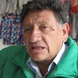 Jorge Monroy durante su entrevista con EL HERALDO.