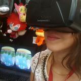 Gafas Oculus Rift que permiten jugar videojuegos en realidad virtual.