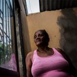 Rosario Rojas guarda la esperanza de reparar los daños que dejó el ventarrón.