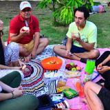 Los picnics están de moda y renuevan los parques en Barranquilla