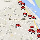 Mapa interactivo: La ruta de Pokémon Go en Barranquilla