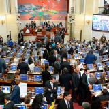 En el pleno del Congreso, Velasco pide una Asamblea Constituyente para reformar la Justicia