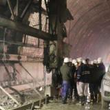 Obras que se adelantan en el túnel de la Línea.