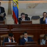 Desde el pleno del Congreso, Velasco pide Constituyente