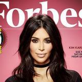 Kim Kardashian se toma la portada de Forbes