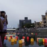 Hiroshima conmemora el 71 aniversario del lanzamiento de la bomba atómica