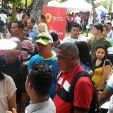 """Barranquilleros acuden a feria laboral """"Con empleo hay paz"""""""
