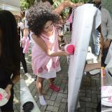 Pintando, diseñadoras costeñas se unen a lucha contra el cáncer