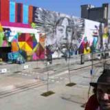 Mural inspirado en Río 2016 es inscrito por el Guinness como mayor del mundo