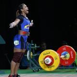 Leidy Solís recibiría medalla de plata de los Olímpicos de Beijing 2008