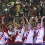 River Plate vence 2-1 a Santa Fe y se corona bicampeón de la Recopa