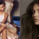 Thylane Blondeau, antes y ahora.