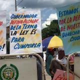 Habitantes de San Andrés de Sotavento no dejan ingresar a su despacho al alcalde (e)