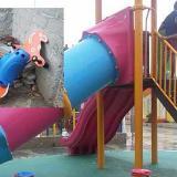 Alcalde samario busca a vándalos de parques nuevos