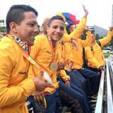 Homenaje a la delegación colombiana tras histórica actuación en Paralímpicos de Río