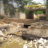 Alertan riesgo por socavación en puente entre Puerto Giraldo y Campo de la Cruz