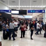 Los vuelos con destino a Bogotá y Medellín son los más afectados.