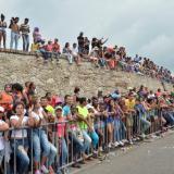 Cada uno de los espectáculos públicos ha tenido asistencia masiva de los habitantes de Cartagena.
